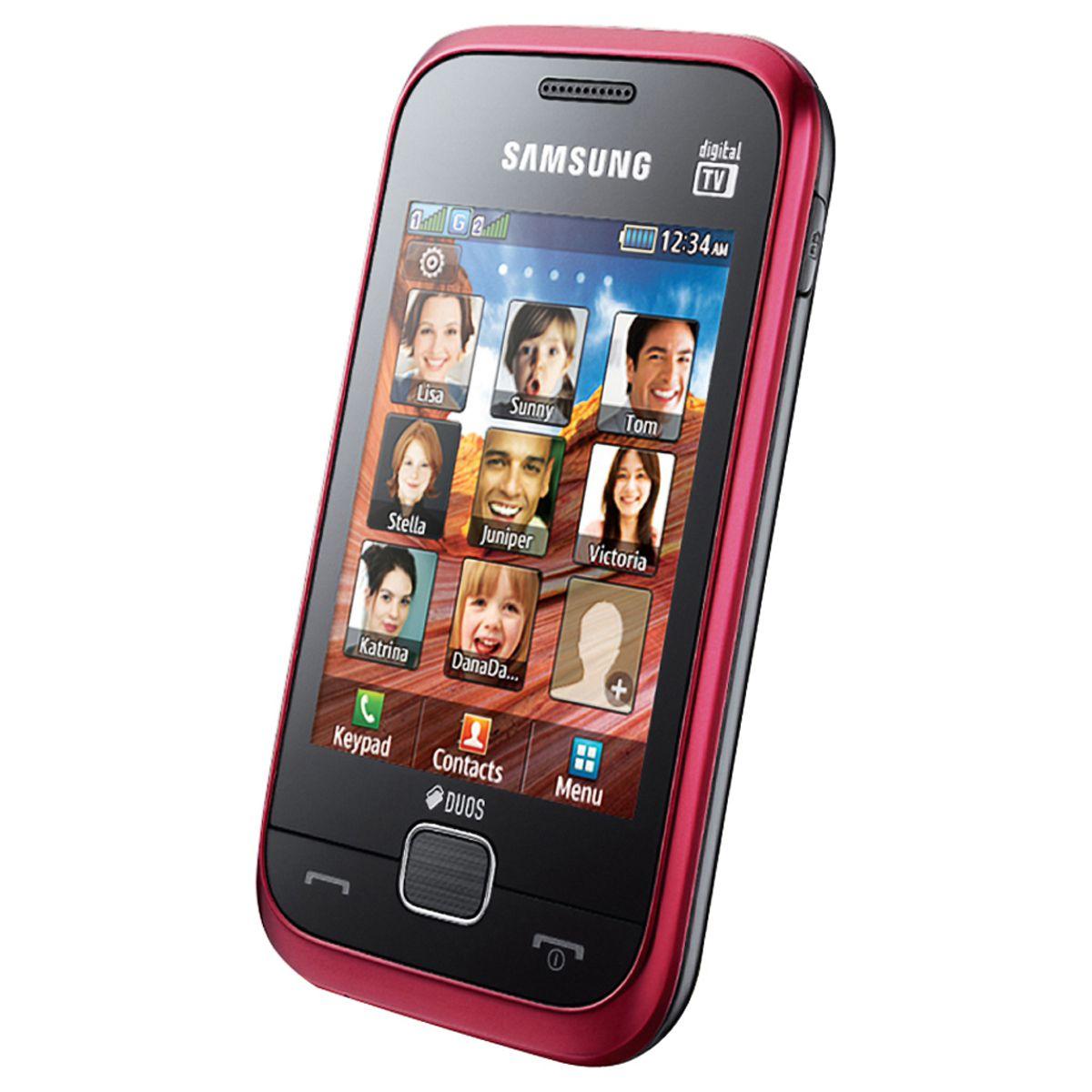 Celular Desbloqueado Samsung C3313T Dual Chip - Memória interna 80MB