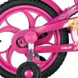 IMAGEM 4: BICICLETA INFANTIL CALOI BARBIE ARO 16 - ROSA