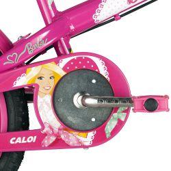 IMAGEM 5: BICICLETA INFANTIL CALOI BARBIE ARO 16 - ROSA