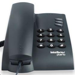 IMAGEM 2: TELEFONE INTELBRAS PLENO COM FIO - PRETO