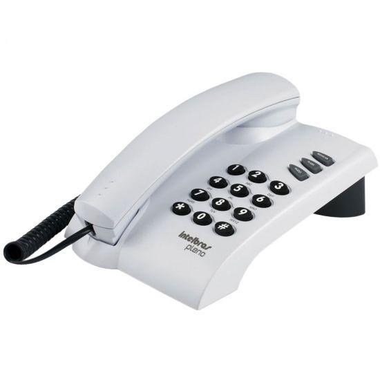 TELEFONE INTELBRAS PLENO COM FIO - BRANCO