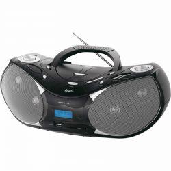 IMAGEM 1: RÁDIO PORTÁTIL PHILCO PH 229 COM MP3, USB, AM/FM, 8W RMS -  PRETO