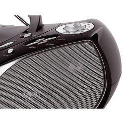 IMAGEM 4: RÁDIO PORTÁTIL PHILCO PH 229 COM MP3, USB, AM/FM, 8W RMS -  PRETO