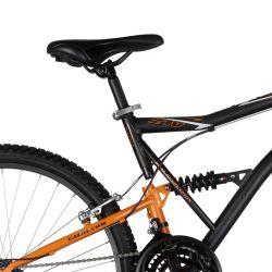 IMAGEM 3: BICICLETA CALOI XRT 21V FULL SUSPENSION ADULTO - PRETO/LARANJA