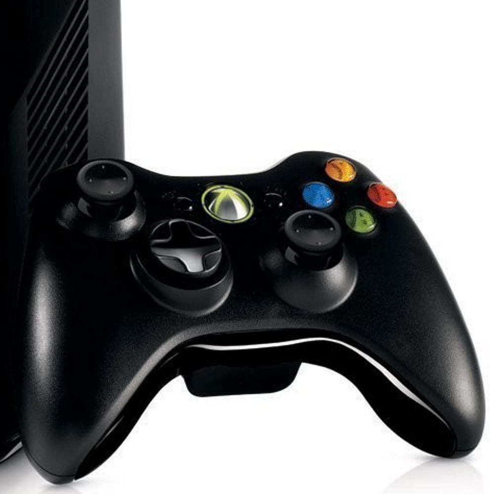 IMAGEM 4  V  205 DEO GAME XBOX 360 4GB COM KINECT - WI-FI - PRETOXbox 360 Video Games