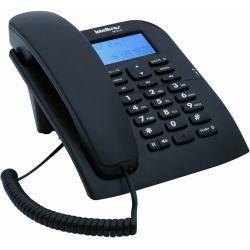 IMAGEM 1: TELEFONE COM FIO INTELBRAS TC 60 ID COM IDENTIFICADOR DE CHAMADA E VIVA-VOZ - PRETO