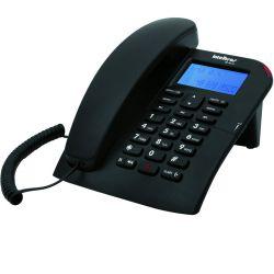 IMAGEM 4: TELEFONE COM FIO INTELBRAS TC 60 ID COM IDENTIFICADOR DE CHAMADA E VIVA-VOZ - PRETO