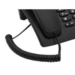 IMAGEM 5: TELEFONE COM FIO INTELBRAS TC 60 ID COM IDENTIFICADOR DE CHAMADA E VIVA-VOZ - PRETO