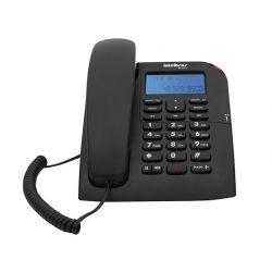 IMAGEM 8: TELEFONE COM FIO INTELBRAS TC 60 ID COM IDENTIFICADOR DE CHAMADA E VIVA-VOZ - PRETO