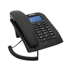 IMAGEM 10: TELEFONE COM FIO INTELBRAS TC 60 ID COM IDENTIFICADOR DE CHAMADA E VIVA-VOZ - PRETO