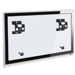 IMAGEM 1: SUPORTE FIXO MULTIVISÃO INFINITI PARA TODAS TVS LCD/PLASMA/LED - PRETO