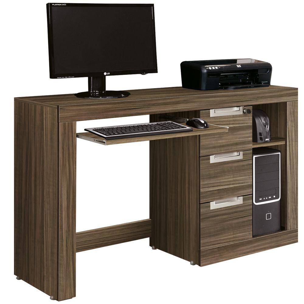 Mesa para computador edn m veis valentina 61520 ebano for Mesa de mezclas para pc