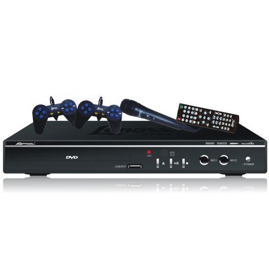 DVD PLAYER LENOXX SOUND DK 418 COM FUNÇÃO KARAOKÊ - PONTUAÇÃO - USB E RIPPING - PRETO