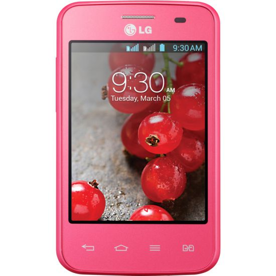"SMARTPHONE LG OPTIMUS L3 II DUAL E435  DESBLOQUEADO - DISPLAY 3.2"" - ANDROID 4.1 - PROCESSADOR 1GHZ - MEM�RIA 4GB - C�MERA 3MP - BLUETOOTH  3.0 - WIFI - GSM / 3G - ROSA"