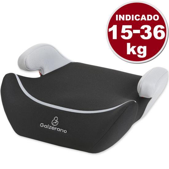 ASSENTO BABY GALZERANO SEG 8100 COM APOIO PARA OS BRAÇOS DE 15 A 36 KG - PRETO