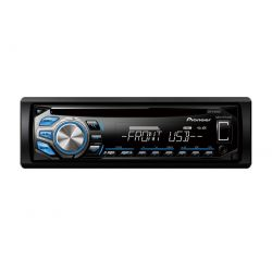 IMAGEM 1: CD PLAYER PIONEER DEH-X1680UB - ENTRADA USB - MIXTRAX - DUAL ILLUMINATION E INTERFACE PARA ANDROID (USB) - PRETO