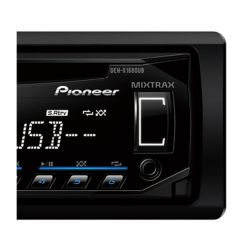 IMAGEM 3: CD PLAYER PIONEER DEH-X1680UB - ENTRADA USB - MIXTRAX - DUAL ILLUMINATION E INTERFACE PARA ANDROID (USB) - PRETO