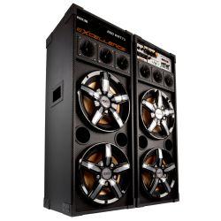 "IMAGEM 1: CAIXA AMPLIFICADA NKS PK 5000 EXCELLENCE - 600W DE POTÊNCIA - ENTRADA USB - ALTO FALANTE DE 10"" - DISPLAY LCD - BIVOLT"