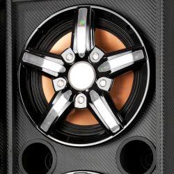 "IMAGEM 4: CAIXA AMPLIFICADA NKS PK 5000 EXCELLENCE - 600W DE POTÊNCIA - ENTRADA USB - ALTO FALANTE DE 10"" - DISPLAY LCD - BIVOLT"