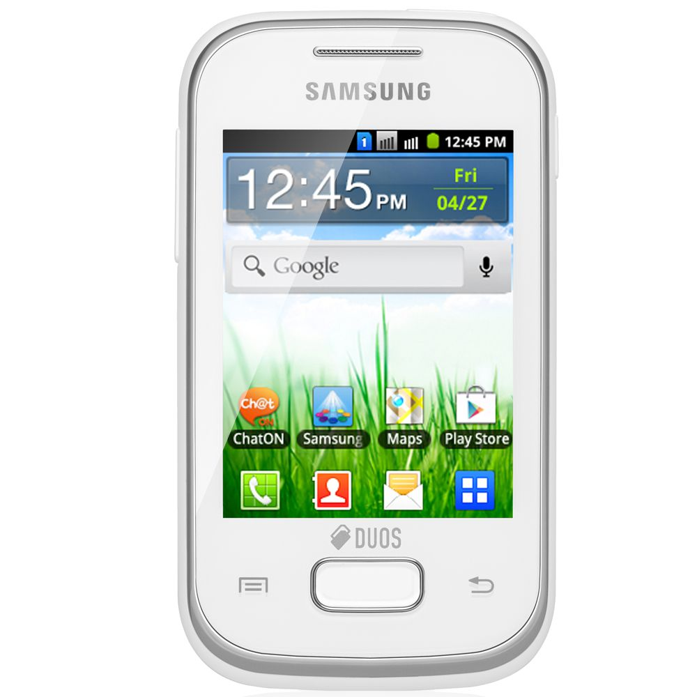 Galaxy Y Young Duos Tv Gt S6313 Branco Dual Chip Android 41 Tv  Apps