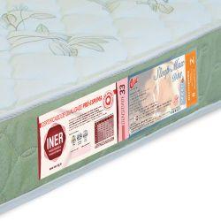 IMAGEM 2: COLCHÃO SOLTEIRO CASTOR SLEEP MAX - DENSIDADE D33 - 88 X 188 X 18  CM - SELO INMETRO