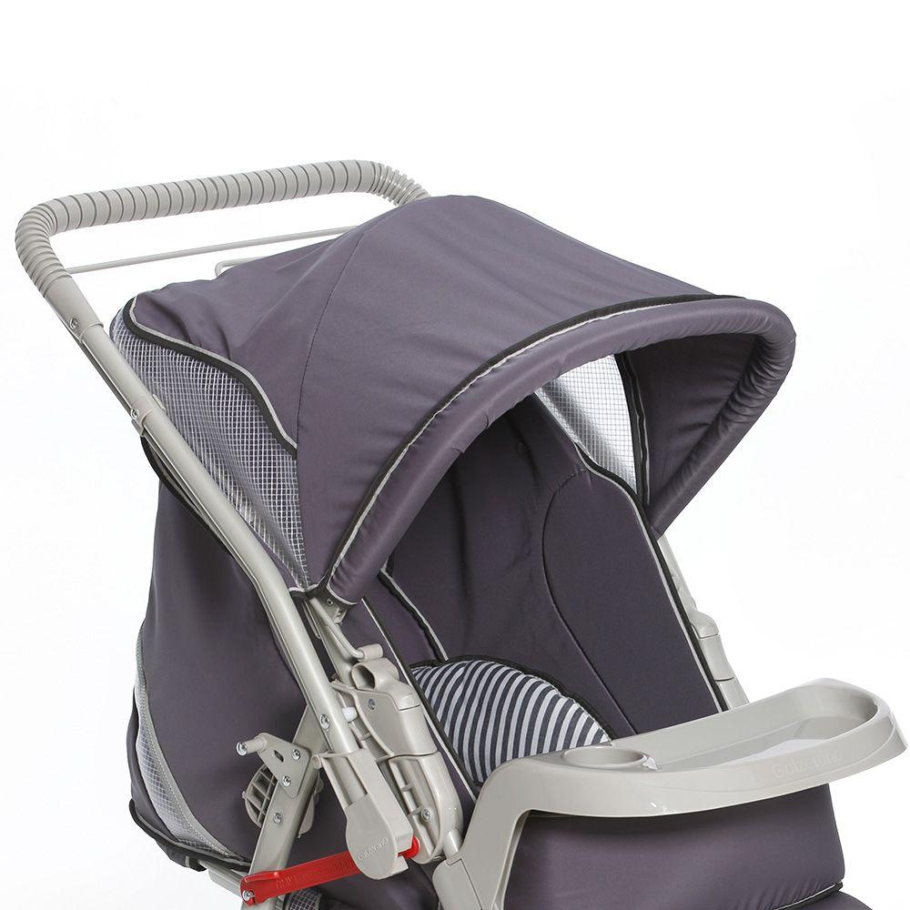 Carrinho de Bebê Galzerano Pegasus Com Protege Baby e ...