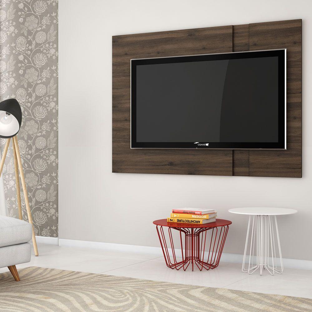 Painel De Tv Para Sala Capuccino Meridian Germai 180 X 120 J Mahfuz
