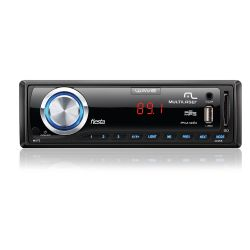 IMAGEM 1: SOM AUTOMOTIVO MULTILASER P3265 WAVE FIESTA - ENTRADA USB - LEITOR DE CARTÃO SD - MP3 - PRETO