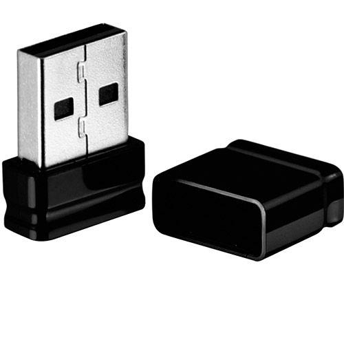PEN DRIVE 8 GB MULTILASER NANO PD053 - TAXA DE TRANSMISSÃO DE 13MB/S (LEITURA) E 5 MB/S (GRAVAÇÃO) - PRETO