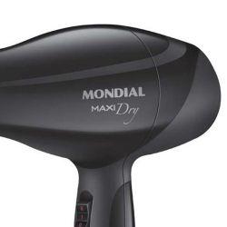 IMAGEM 2: SECADOR DE CABELO MONDIAL SC-18 MAXY DRY - PRO - ION TECHNOLOGY - 2.000W - DESEMPENHO PROFISSIONAL - PRETO