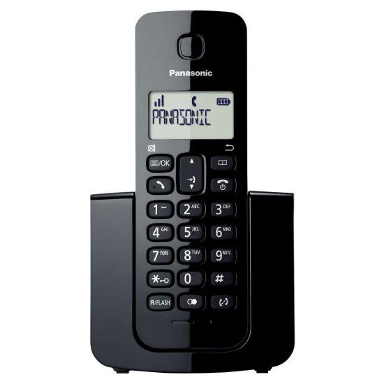 TELEFONE SEM FIO  KX-TGB110LBB PANASONIC - VISOR COM IDENTIFICADOR DE CHAMADAS - MODO ECO - PRETO