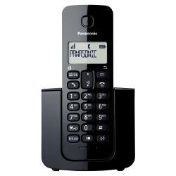 IMAGEM 1: TELEFONE SEM FIO  KX-TGB110LBB PANASONIC - VISOR COM IDENTIFICADOR DE CHAMADAS - MODO ECO - PRETO