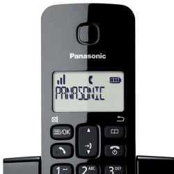 IMAGEM 3: TELEFONE SEM FIO  KX-TGB110LBB PANASONIC - VISOR COM IDENTIFICADOR DE CHAMADAS - MODO ECO - PRETO