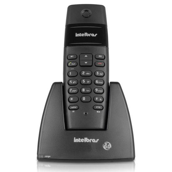 TELEFONE SEM FIO INTELBRAS TS40 - DIGITAL - PRETO