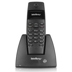IMAGEM 1: TELEFONE SEM FIO INTELBRAS TS40 - DIGITAL - PRETO