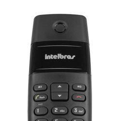 IMAGEM 2: TELEFONE SEM FIO INTELBRAS TS40 - DIGITAL - PRETO
