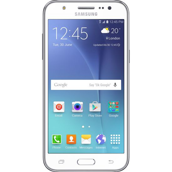 "SMARTPHONE SAMSUNG GALAXY J5 DUOS  - ANDROID 5.1 - CÂMERA 13MP - TELA 5"" SUPER AMOLED - INTERNET 4G - BRANCO"