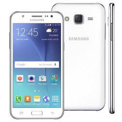 "IMAGEM 3: SMARTPHONE SAMSUNG GALAXY J5 DUOS  - ANDROID 5.1 - CÂMERA 13MP - TELA 5"" SUPER AMOLED - INTERNET 4G - BRANCO"