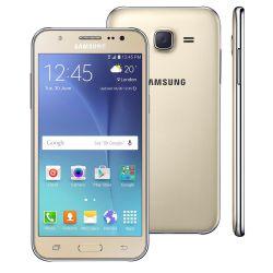 """IMAGEM 3: SMARTPHONE SAMSUNG GALAXY J5 DUOS  - ANDROID 5.1 - CÂMERA 13MP - TELA 5"""" SUPER AMOLED - INTERNET 4G - DOURADO"""