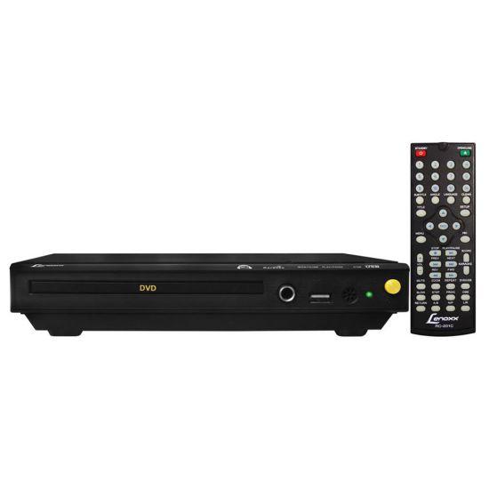 DVD LENOXX DV-445 COM ENTRADA USB - KARAOKÊ - BIVOLT - PRETO