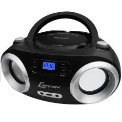 IMAGEM 2: RÁDIO COM CD PLAYER LENOXX BOOMBOX BD-1360 - USB - MP3 - BLUETOOTH - RÁDIO FM - AUXILIAR - PRETO