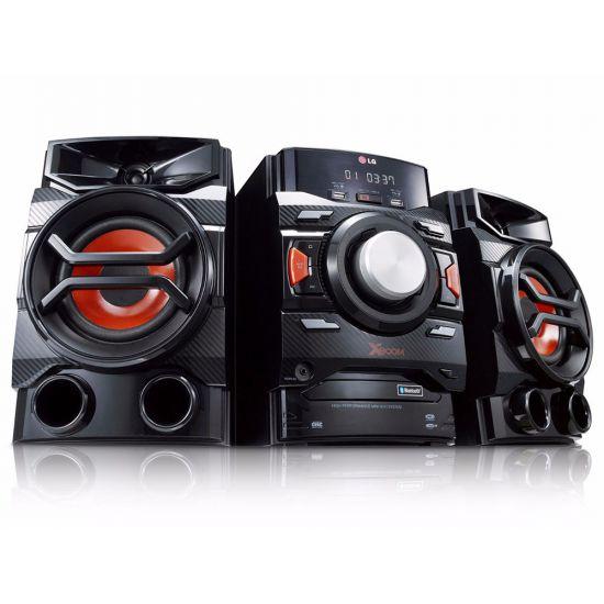 MINI SYSTEM X BOOM LG CM4350 - 220W RMS - 2 USB - 1 AUX - AUTO DJ - PRETO
