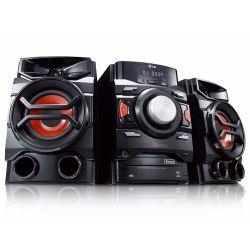 IMAGEM 1: MINI SYSTEM X BOOM LG CM4350 - 220W RMS - 2 USB - 1 AUX - AUTO DJ - PRETO