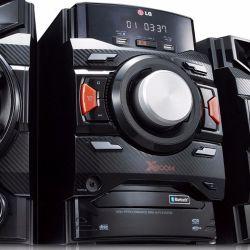 IMAGEM 3: MINI SYSTEM X BOOM LG CM4350 - 220W RMS - 2 USB - 1 AUX - AUTO DJ - PRETO