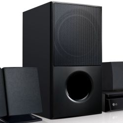 IMAGEM 3: HOME THEATER LG LHD625 COM CONEXÃO WIRELESS - FULL HD - BLUETOOTH - USB - PRETO