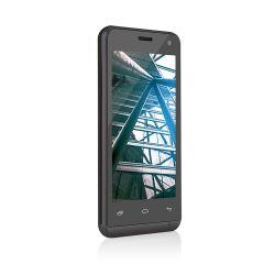 IMAGEM 2: SMARTPHONE MULTILASER  MS40 - DUAL CHIP - QUAD-CORE 1.2GHZ - ANDROID 4.4 KITKAT - CÂMERA TRASEIRA 5MP - FRONTAL 2MP - 3G - WI-FI - PRETO