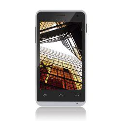 IMAGEM 3: SMARTPHONE MULTILASER  MS40 - DUAL CHIP - QUAD-CORE 1.2GHZ - ANDROID 4.4 KITKAT - CÂMERA TRASEIRA 5MP - FRONTAL 2MP - 3G - WI-FI - BRANCO