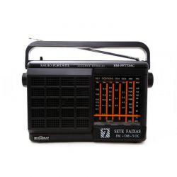 IMAGEM 1: RÁDIO MOTOBRAS RM-PFT73AC - AM/FM - PRETO