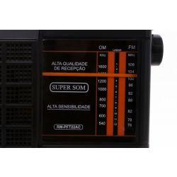 IMAGEM 3: RÁDIO MOTOBRAS RM-PFT22AC - AM/FM - PRETO