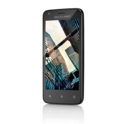 "IMAGEM 3: SMARTPHONE DESBLOQUEADO MULTILASER MS45 COLORS  - QUAD-CORE 1.2GHZ - DUAL CHIP - TELA 4.5"" - ANDROID LOLLIPOP - CÂMERA 5MP - INTERNET 3G - WI-FI - 8GB - CASE COLORIDO - PRETO"